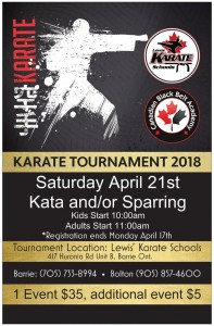 Karate Tournament 2018